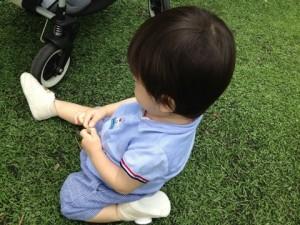 小倉優子,息子,アトピー,幼稚園,スクール,公園,誕生日